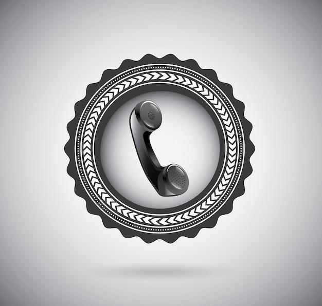電話、電話、連絡先 無料ベクター