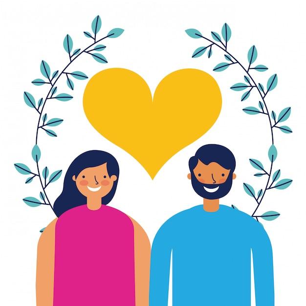 Счастливого дня святого валентина Бесплатные векторы