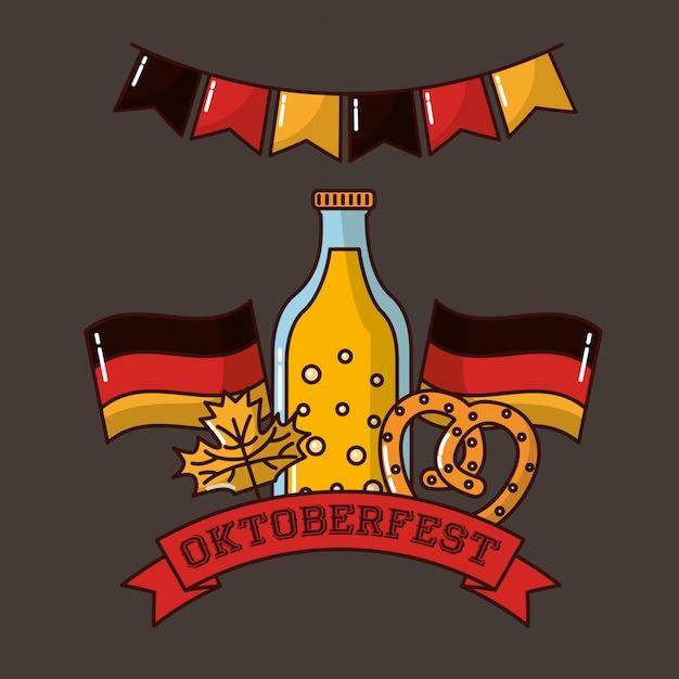 Октоберфест германия праздник Бесплатные векторы