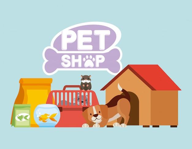 ペットと獣医 無料ベクター