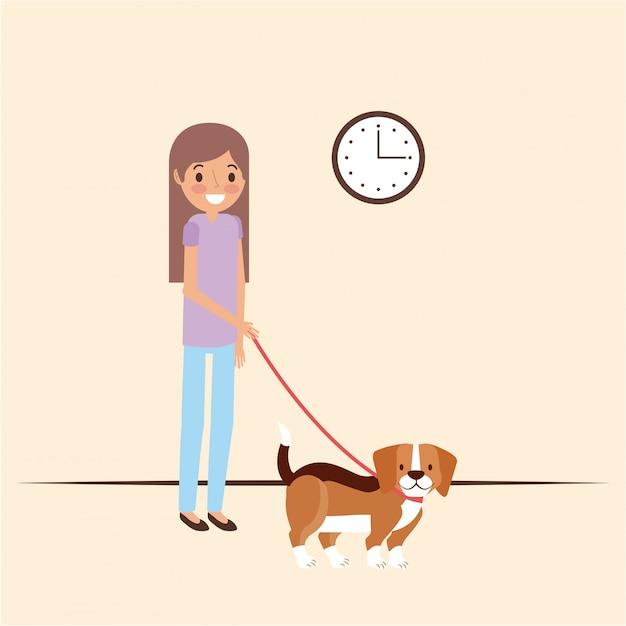 Домашнее животное и ветеринария Бесплатные векторы