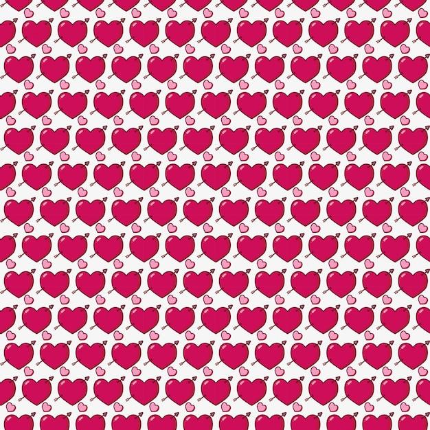 幸せなバレンタインデー 無料ベクター