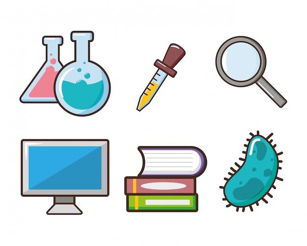 実験室ツール科学 無料ベクター