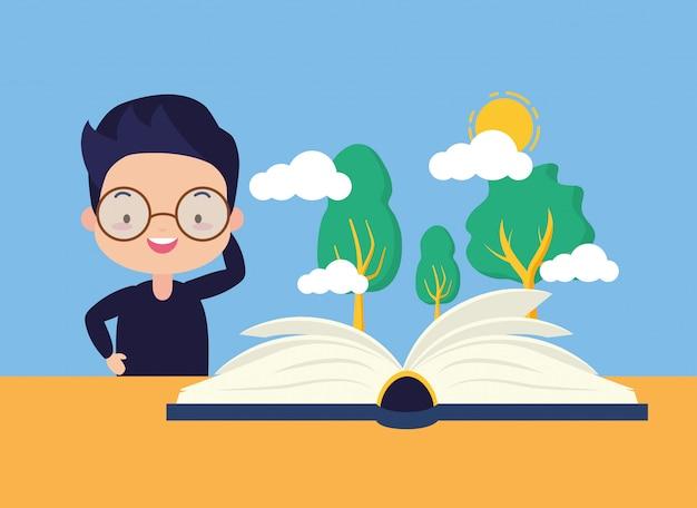 子供の世界の本の日 無料ベクター