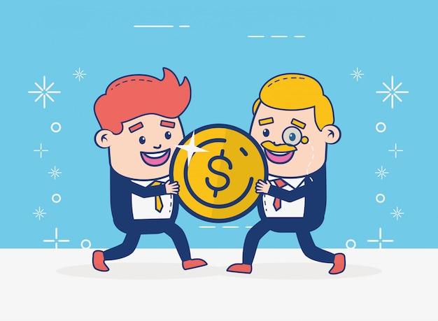 Интернет-банкинг людей Бесплатные векторы