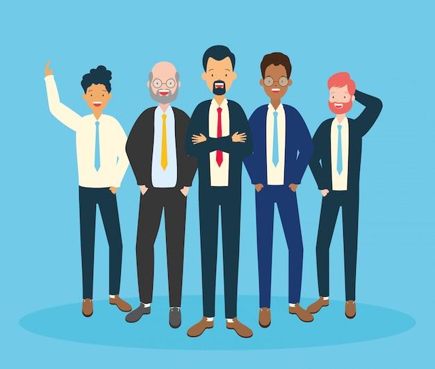 Группа мужчин Бесплатные векторы
