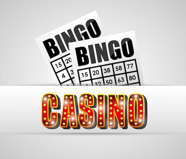 Дизайн игр казино Бесплатные векторы
