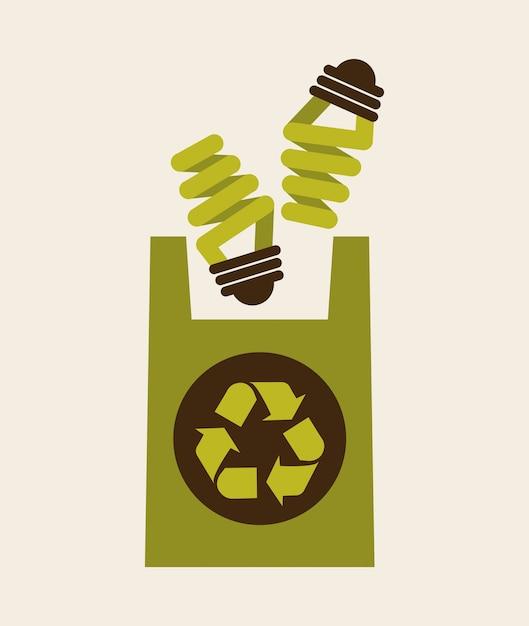 リサイクル図 無料ベクター