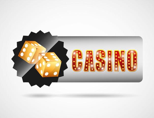 カジノクラブのロゴ 無料ベクター