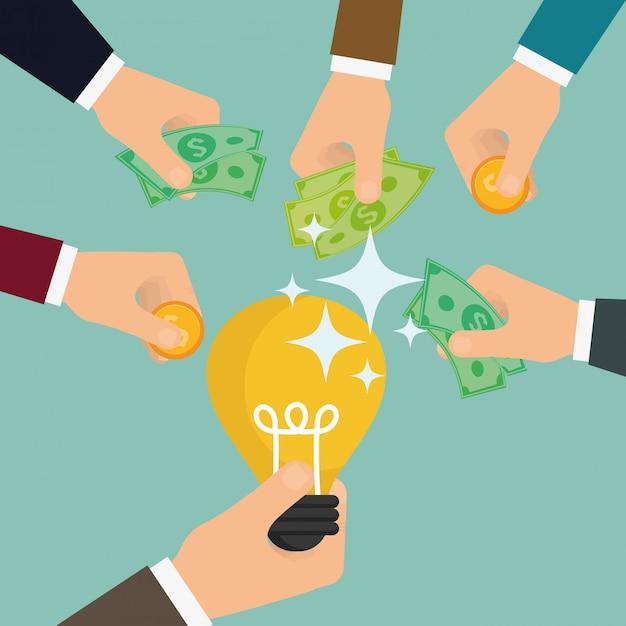 ビジネス投資家 Premiumベクター