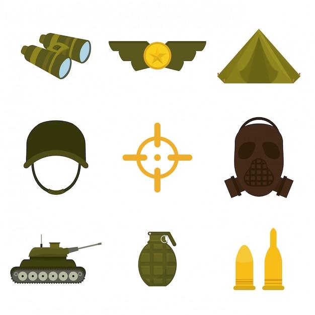 Армия дизайн иллюстрация Premium векторы