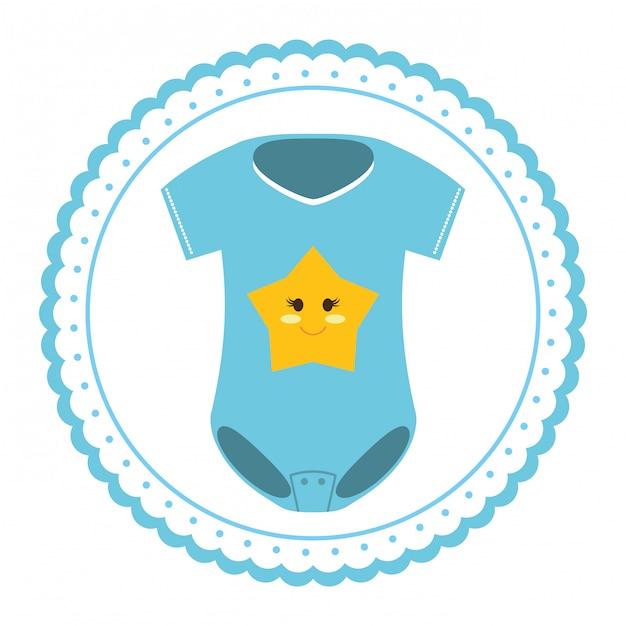 赤ちゃん服アイコン Premiumベクター