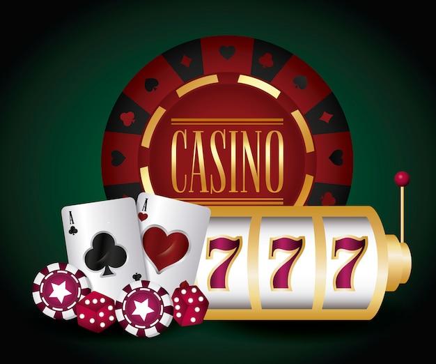 ジャックポットとカジノ 無料ベクター