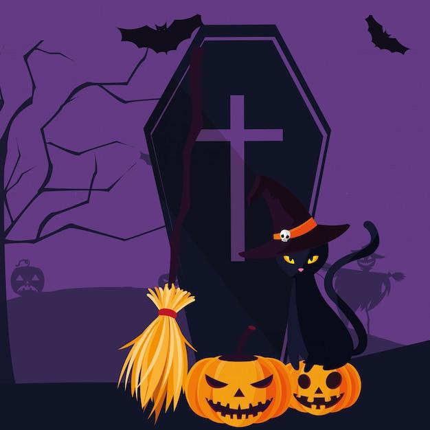 коты хэллоуин стих мало кто