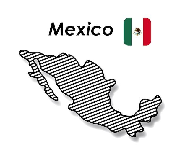 メキシコのポスター Premiumベクター
