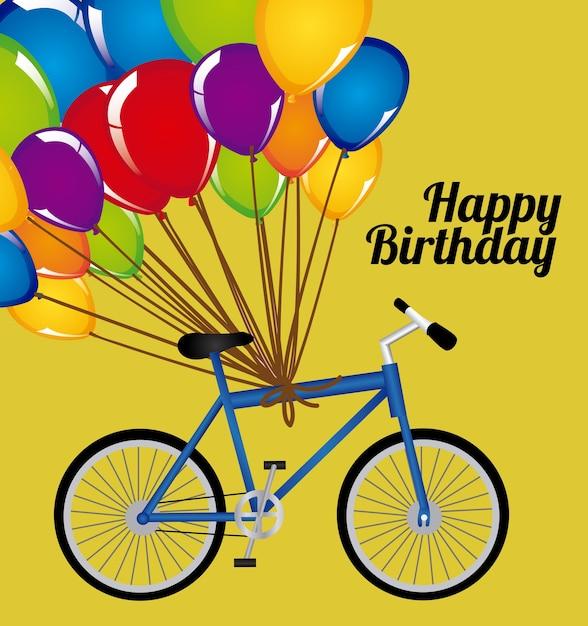 Открытки день рождения велосипедного спорта
