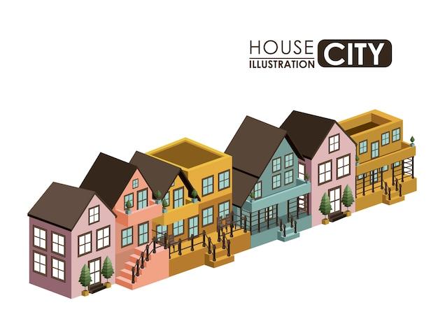 Городской дизайн Premium векторы