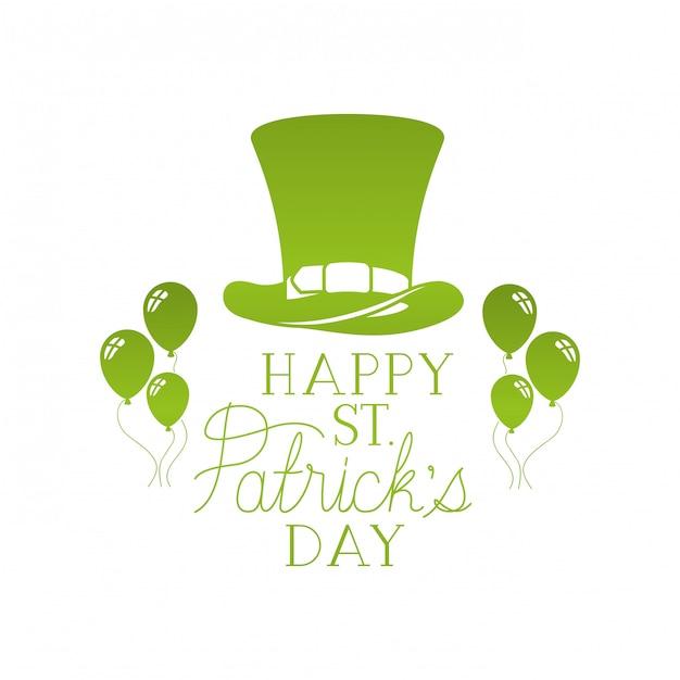 Счастливый день святого патрика Premium векторы