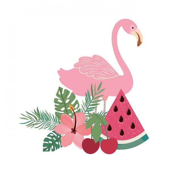 Рамка фламандская с летними цветами Бесплатные векторы