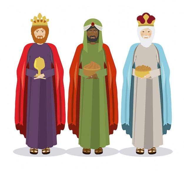 三人の王、エピファニー Premiumベクター