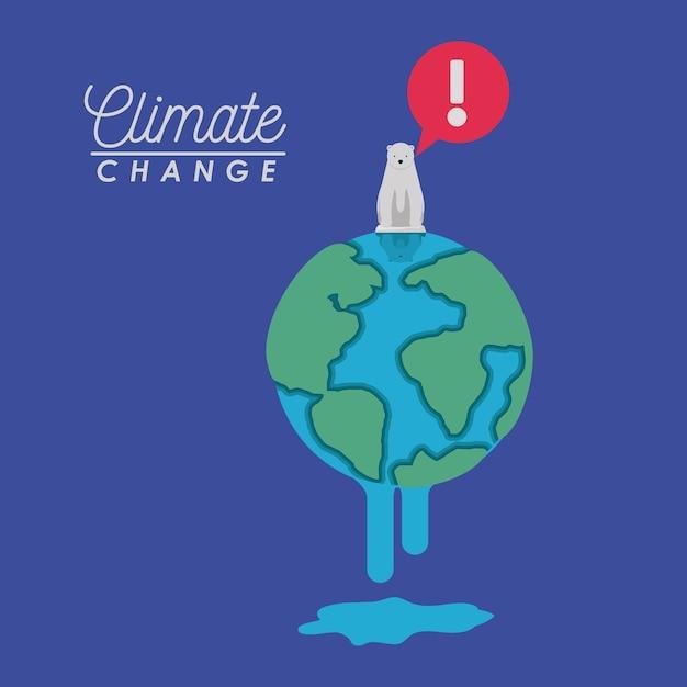 気候変動の影響 Premiumベクター