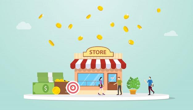 Открыть оффлайн магазин или магазинную концепцию построения ...