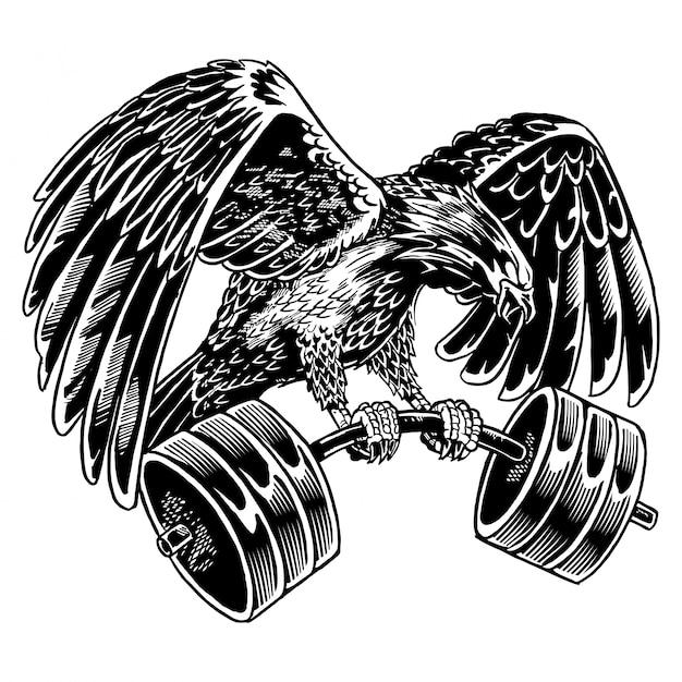 фото орла со штангой лидия долго таит