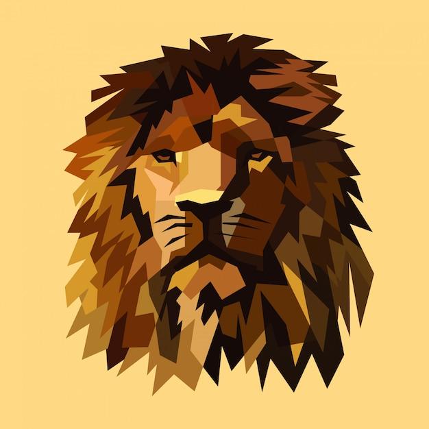 ライオンのベクトル図 Premiumベクター