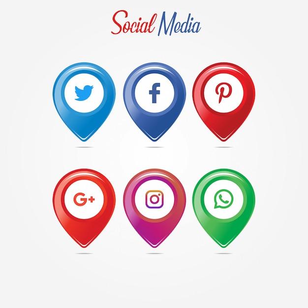 ソーシャルネットワーキング Premiumベクター