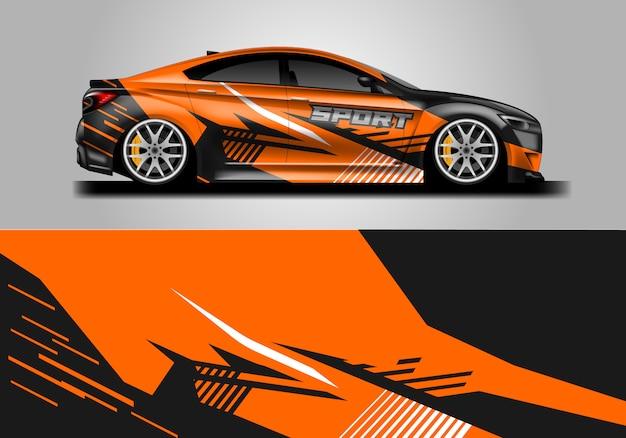 車両用デカールラップデザイン Premiumベクター