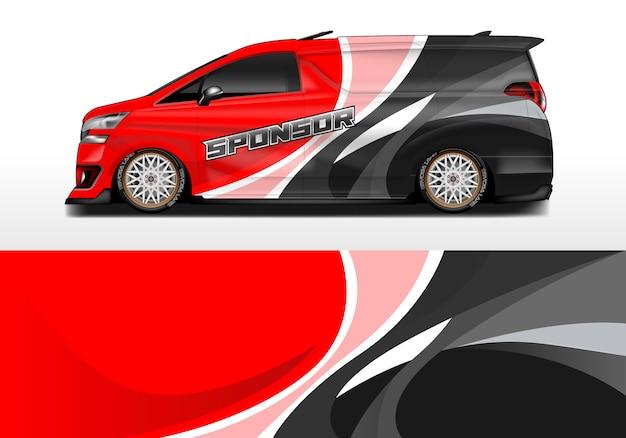 Дизайн гоночной машины Premium векторы