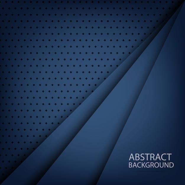 青の抽象的なグラデーションの背景 Premiumベクター