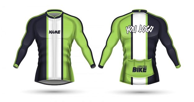 Шаблон для велоспорта Premium векторы