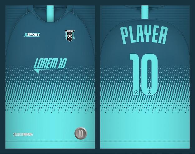 Футболка шаблон спортивная футболка Premium векторы