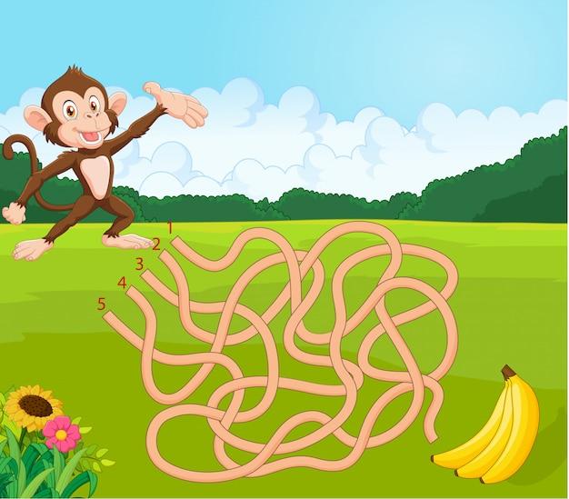 Угадай слово на картинке обезьяна бананы