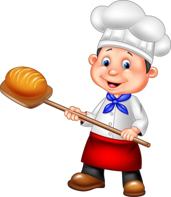 рисунок пекарь с хлебом зори здесь тихие