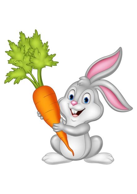 Картинка заяц морковкой