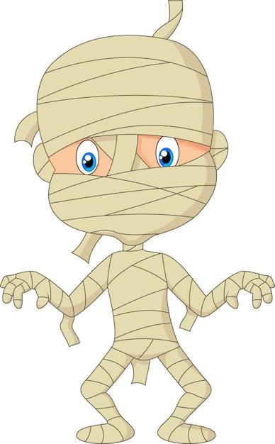 Мультяшные мумии для детей картинки