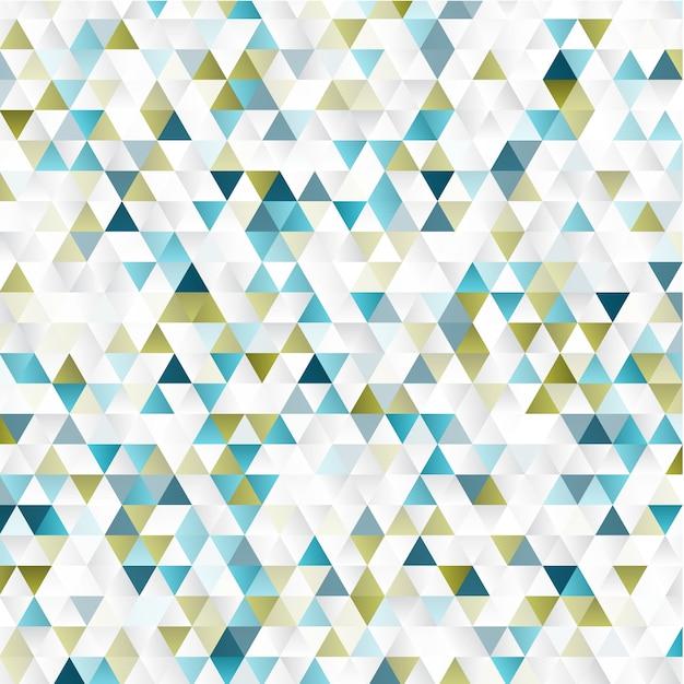 抽象的な幾何学的背景 無料ベクター