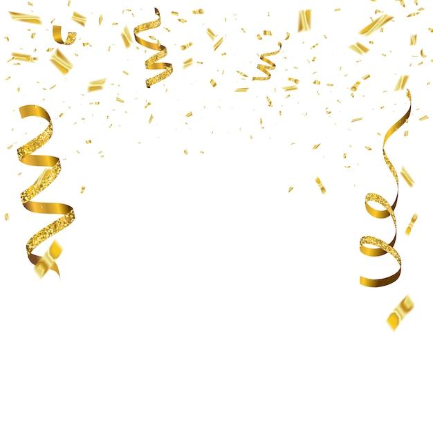 祝賀の背景のテンプレート Premiumベクター