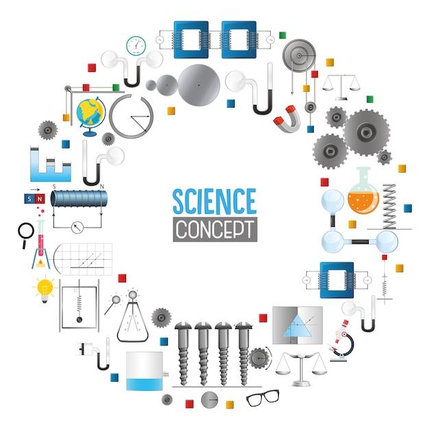 科学のベクトルイラスト Premiumベクター