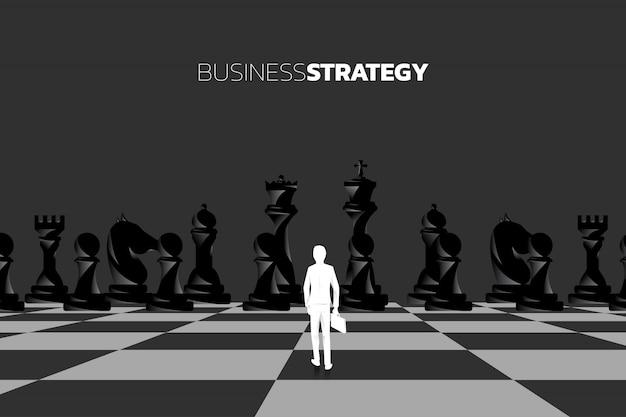 ビジネスマンのシルエット Premiumベクター