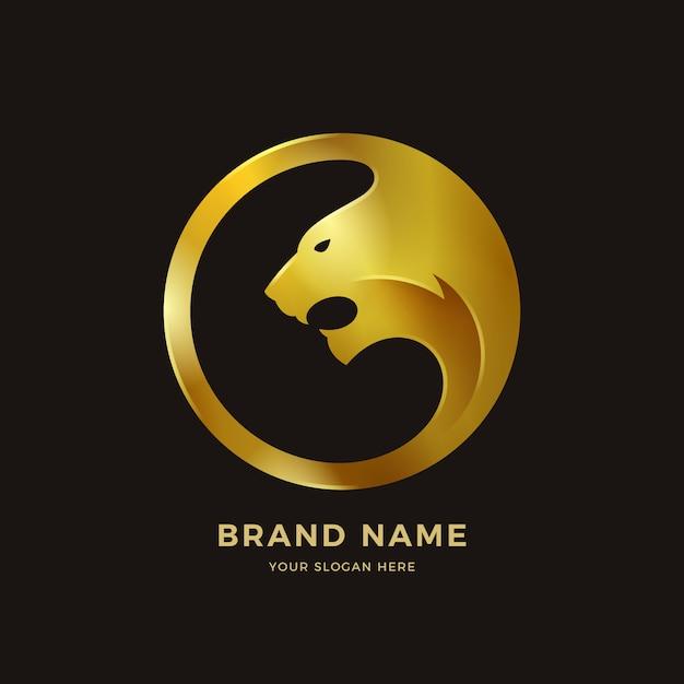 タイガーのロゴ Premiumベクター