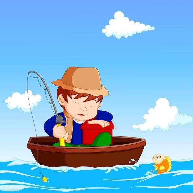 Картинки рыбак из мультиков