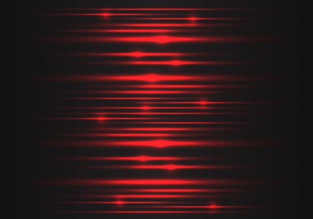 Красный свет скорость энергии технологии энергетический фон. Premium векторы