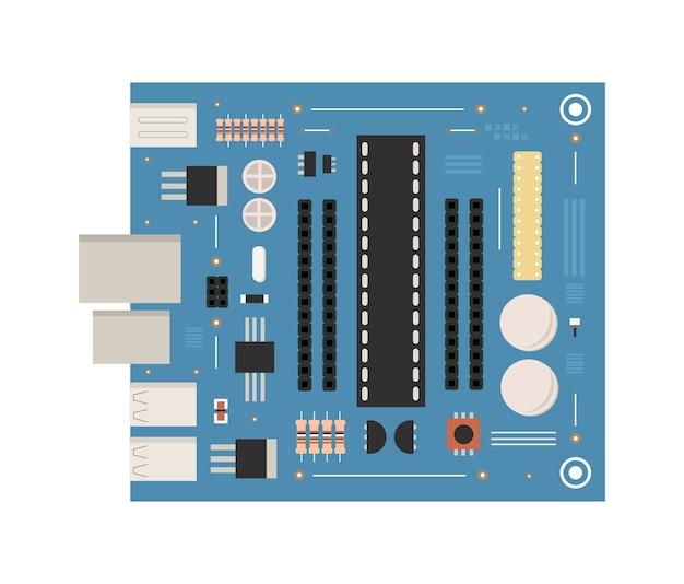 表面実装技術プリント回路基板 Premiumベクター