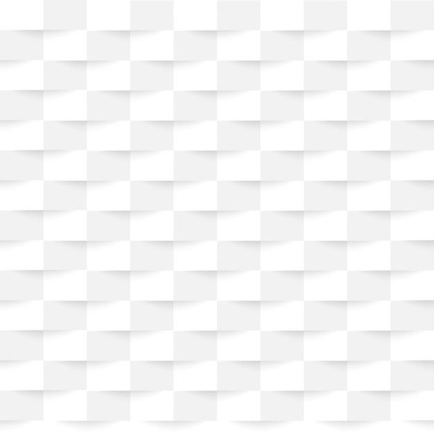 正方形の下に影を持つ白い背景テクスチャビジネス。 Premiumベクター