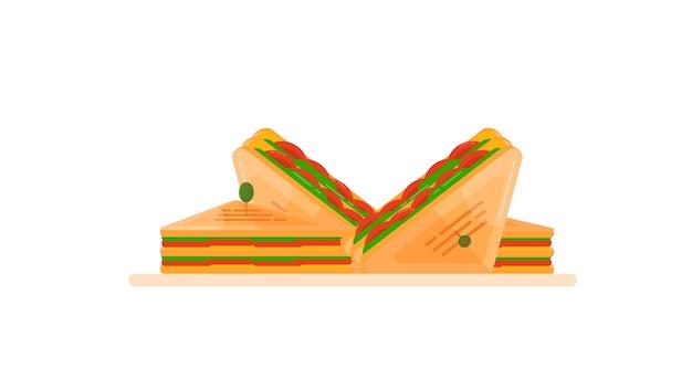 サンドイッチインソール Premiumベクター