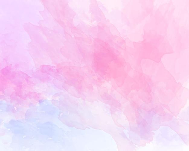 ピンクの柔らかい水彩抽象テクスチャ。 Premiumベクター