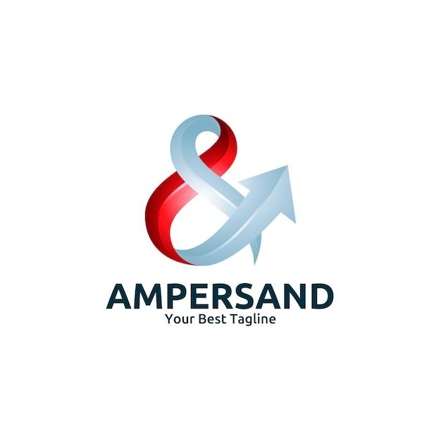 アンパサンド・レター・ロゴ・テンプレート Premiumベクター